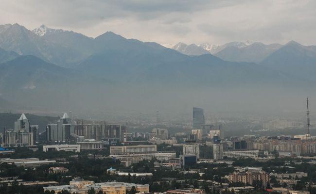 ВАлма-Ате загрязнение воздуха вернулось кдокризисному уровню