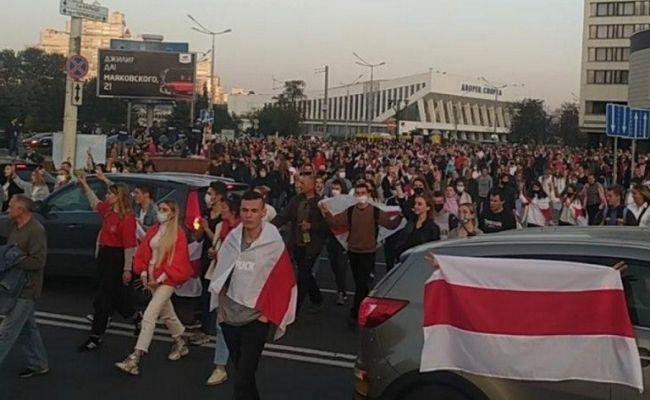 Жителям Минска осточертели незаконные сборища ишествия— МВД Белоруссии