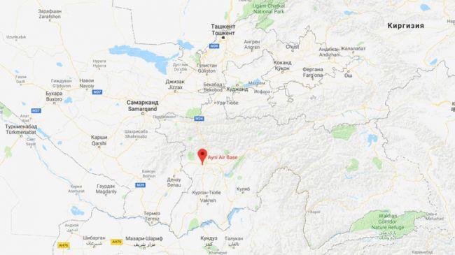 Картинки по запросу военную базу Индии в Айни карта