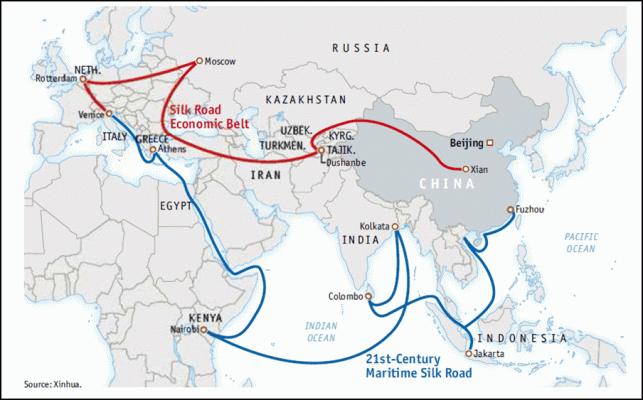 Estonia joins Chinese New Silk Road plan Politics Europe EADaily