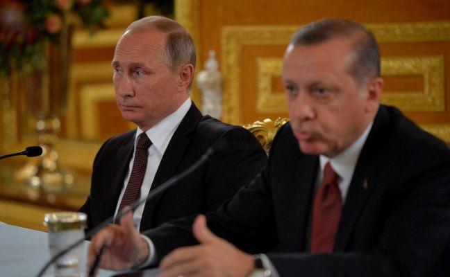 Путин и Эрдоган обсудили различные аспекты ситуации в Сирии