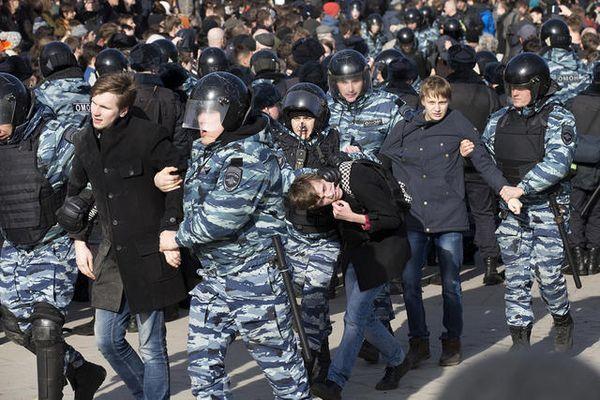 МВД просит людей воздержаться от участия в акции в Москве 29 апреля