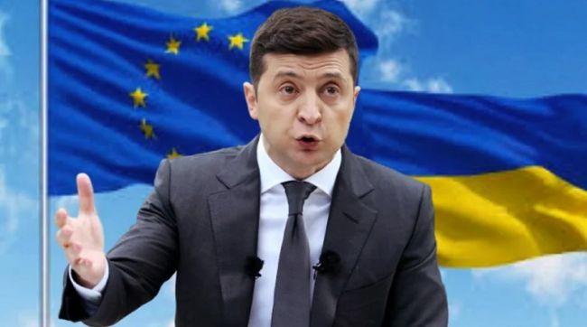 Зеленский потребовал отБрюсселя четкого плана вступления вЕвросоюз: EADaily