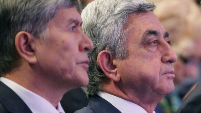 Серж Саргсян об Алмазбеке Атамбаеве: Бывших президентов не бывает