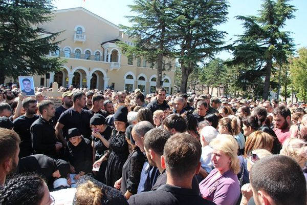 Событиям вЮжной Осетии дали название— революция справедливости