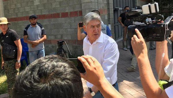 Атамбаев из свидетеля превратился в обвиняемого, - президент Кыргызстана