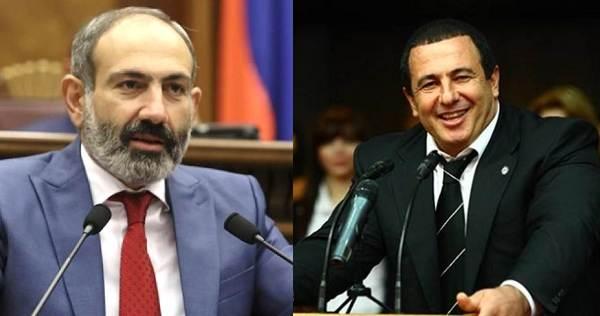 Царукян призвал Пашиняна устранить «тёмные моменты» после встречи ...