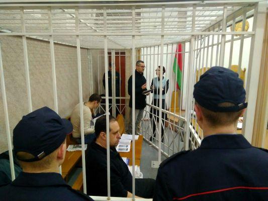 Пророссийских публицистов судят в Минске: 04.01.2018 день одиннадцатый