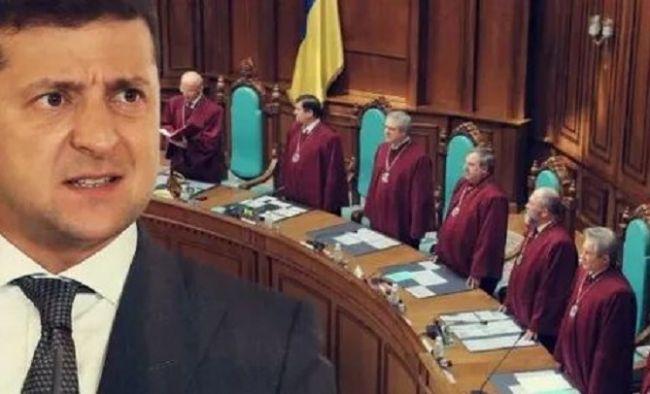 Зеленский предложил разогнать Конституционный суд Украины — Новости  политики, Новости Украины — EADaily