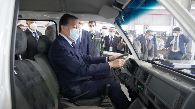 Казахстан и Узбекистан начали производство новых моделей авто