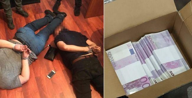 В Киеве задержали фальшивомонетчиков с миллионом поддельных евро