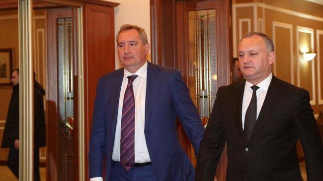 «Нежелательный» в Молдавии Рогозин удивлен «разоблачением» Додона